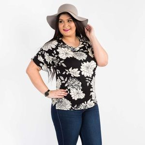 Agnes & Dora Frill Sleeve Top - one fine day